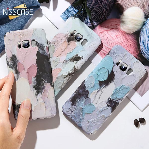 Case For Samsung Galaxy A5 A7 2016 2017 3D Emboss Luminous Case For Samsung Note 8 9 S9 S10 S8 plus S7 edge A6 A8 2018
