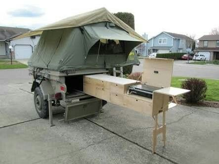 Pin by Floyd Baker on Camping Hacks   Overland trailer ...