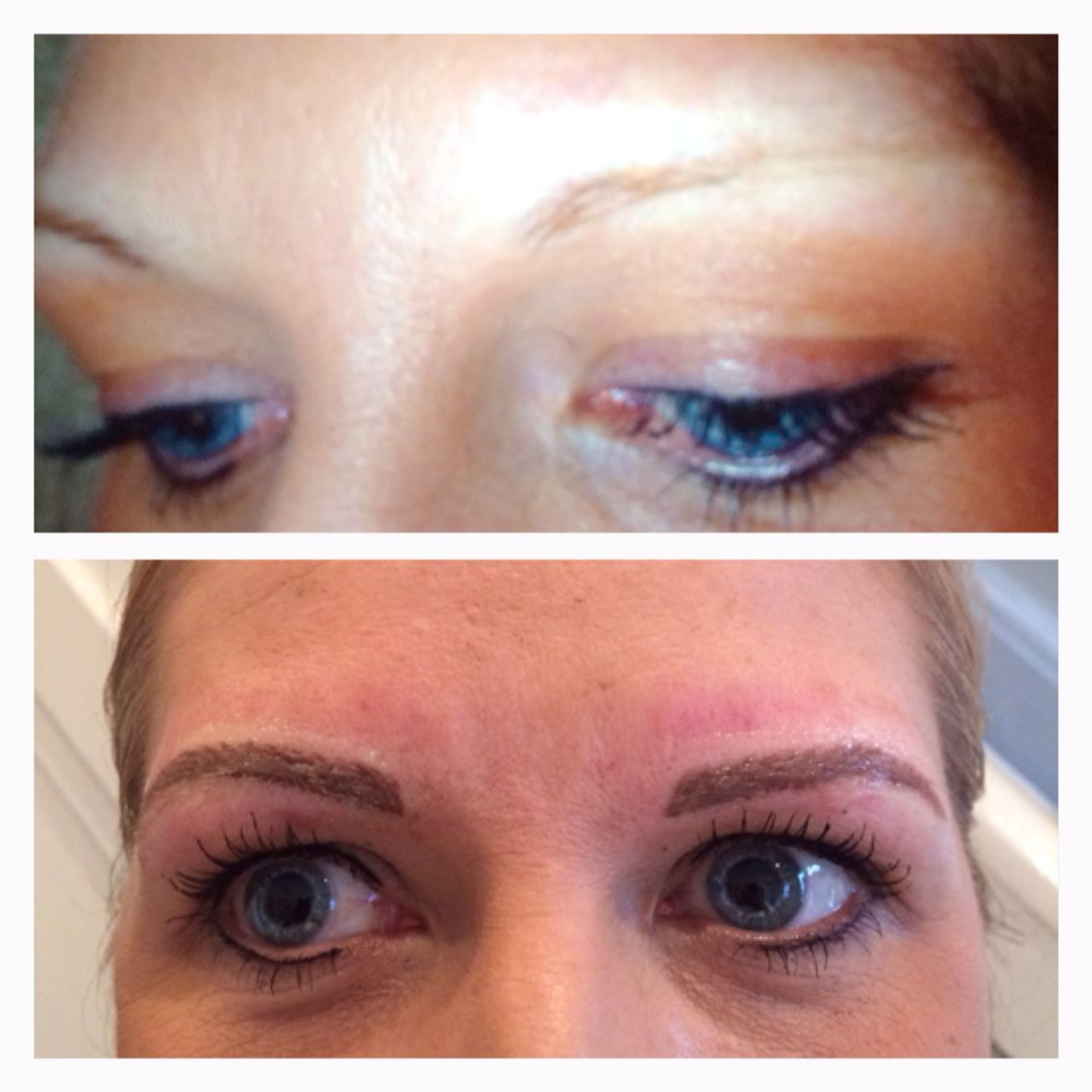 Semi permanent make up by sjaestheticsfacebook hairmakeup