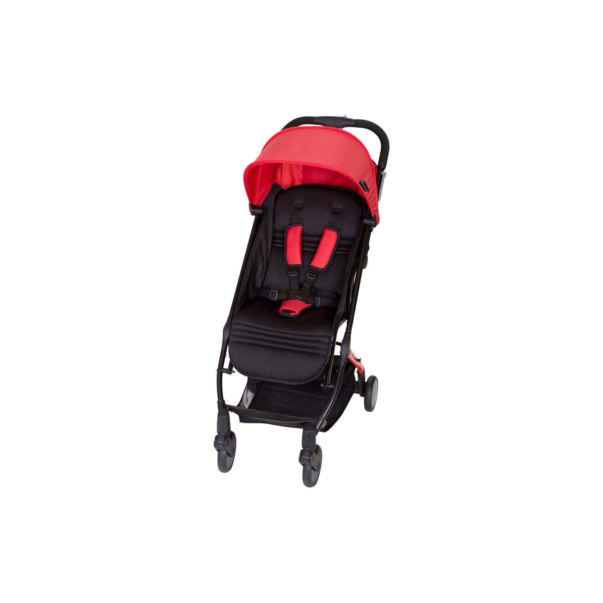 Baby Trend TriFold Mini Stroller Apple Red Umbrella