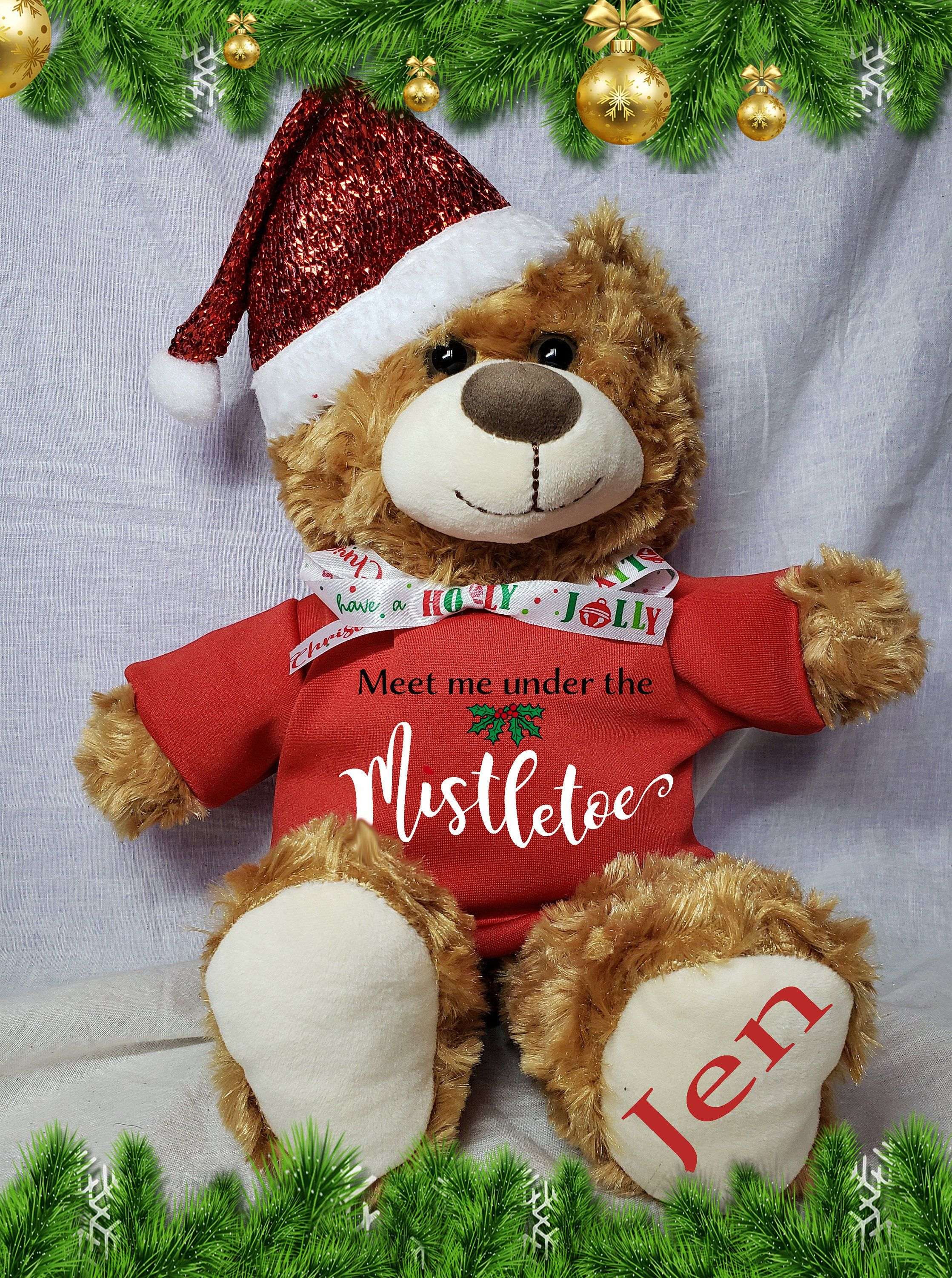 Personalized Teddy Bear For Valentine S Gift Love Gift Etsy Personalised Teddy Bears Valentine Gifts Teddy Bear