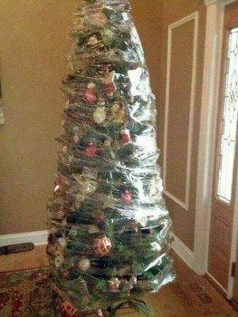 Árvores de Natal para famílias com bebês explorado
