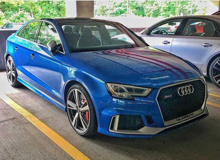 Audi Rs3 Clubsport Quattro Audi Rs3 Sports Cars Luxury Audi A3
