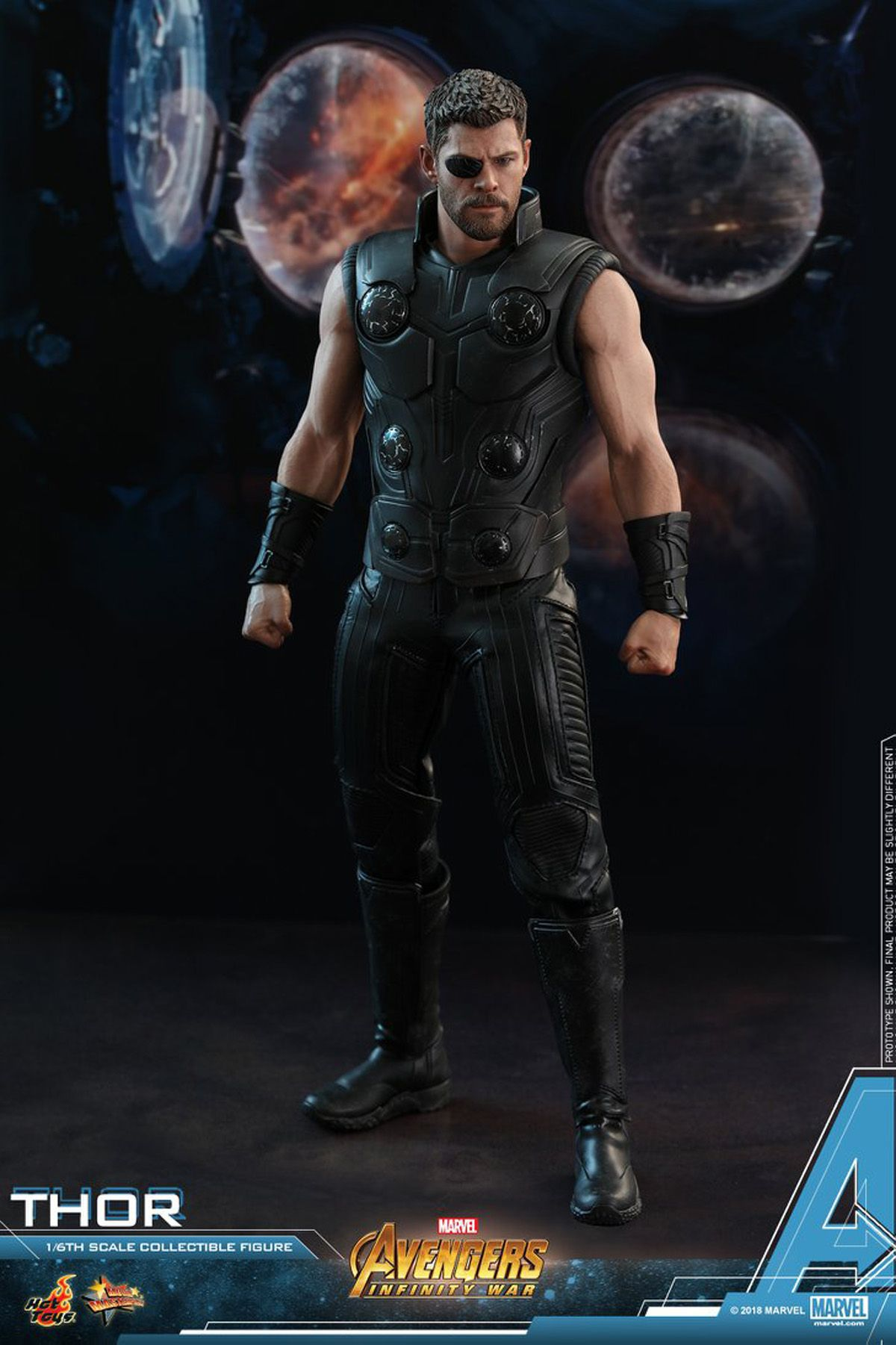 """1//6 Scale The Avengers Thor/'s Hammer Model For 12/"""" Action Figure Body Hot Toys"""