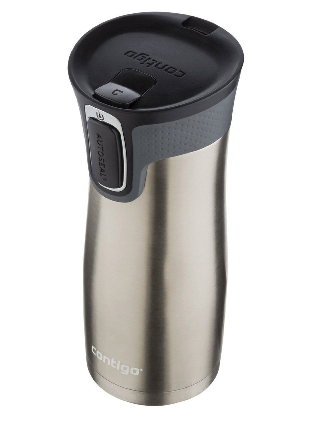 Amazon|Contigo Autoseal West Loop Stainless Steel Travel Mug with Easy Clean…