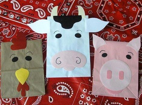 bolsas de cumpleanos caseras para nios