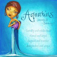 AQUARIUS DESIGN 25X25cm ASTRO GIRL CANVAS PRINT AQUARIUS DESIGN 25X25cm   Please Click the image for more information.