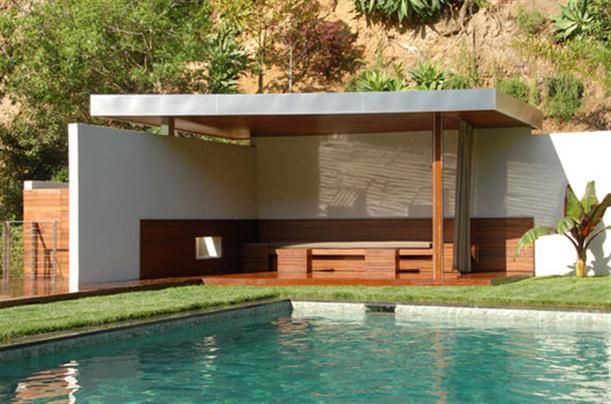 Flat roof two walls and post va gazebo pinterest for House with pool on roof