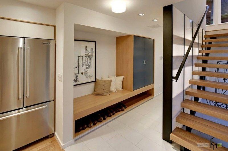 Interesting Entrance Hall Design Ideas With Bright Lighting - kche modern