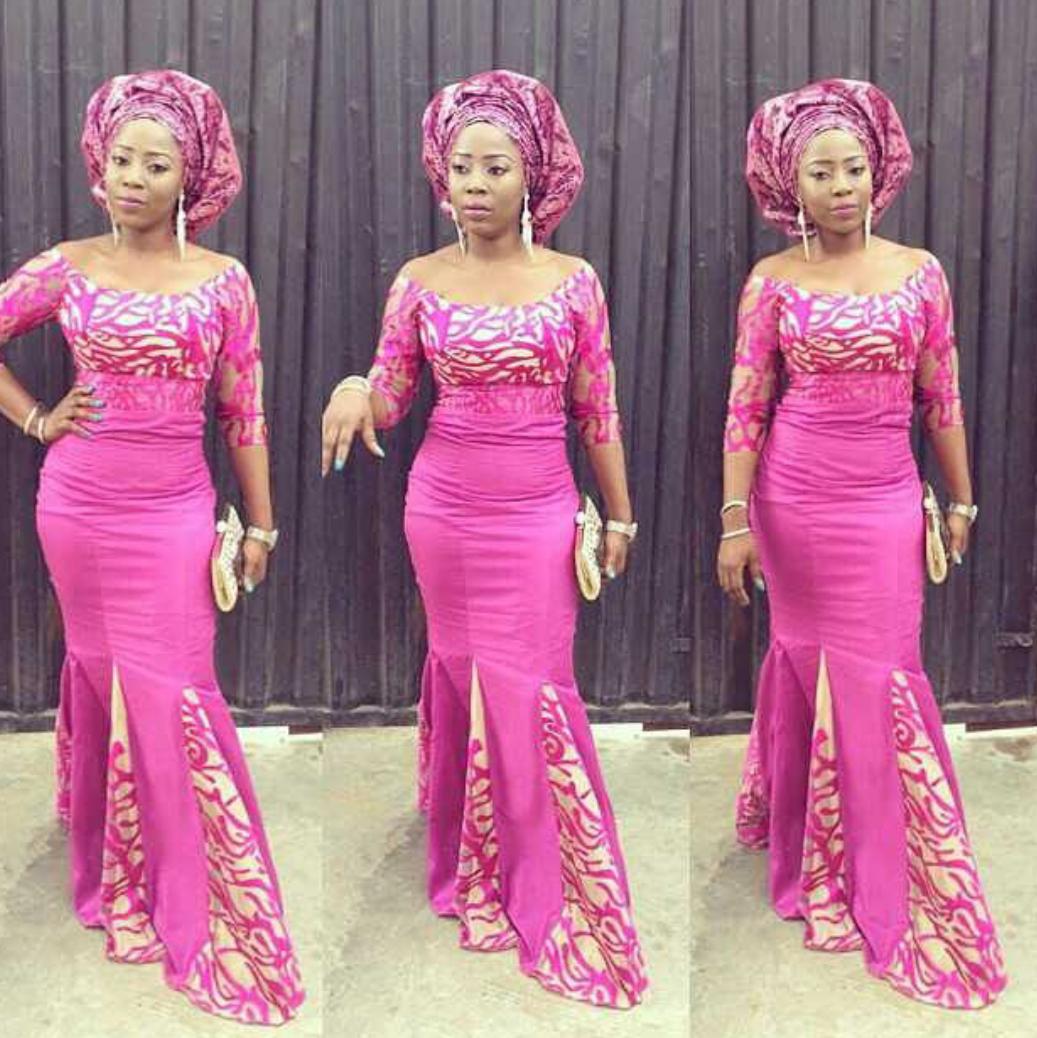 Bonito Vestido De Novia De Nigeria Imágenes - Colección de Vestidos ...