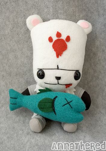 Stuffed Stuff Bear Shaman From Castle Crashers Castle Crashers Geek Toys Castle