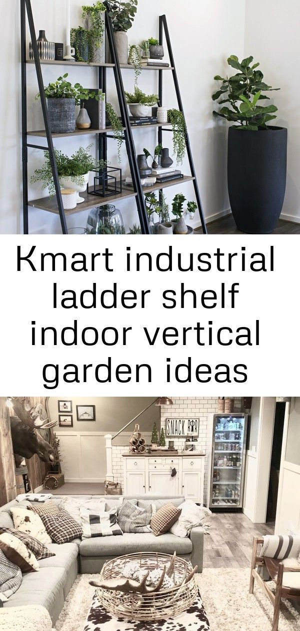 Kmart industrial ladder shelf indoor vertical garden ideas minimalist handmade home decor, ceramic 9 #cabinetorganizers kmart industrial ladder shelf ... -  Kmart industrial ladder shelf indoor vertical garden ideas minimalist handmade home decor, ceramic 9 #cabinetorganizers kmart industrial ladder shelf indoor vertical garden ideas Minimalist handmade home decor, ceramic, vase and textile. Make your basement the best room in your house and get inspired by these amazing finished basement desig #minimalisthomedecor