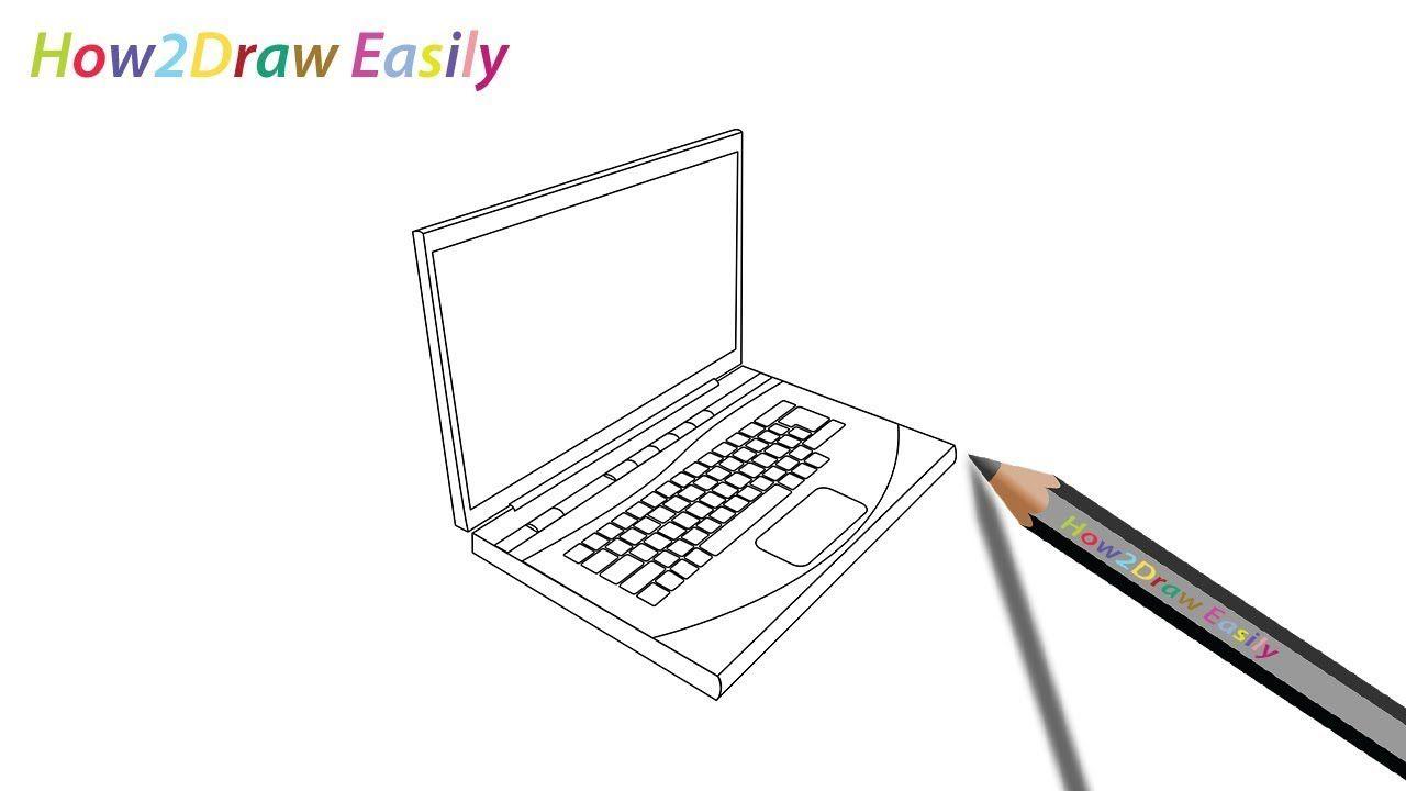 Laptop Drawing Proekty Raboty Dizajn Proekty