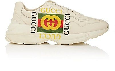 We Adore: The Gara Leather Sneakers from Gucci at Barneys New York