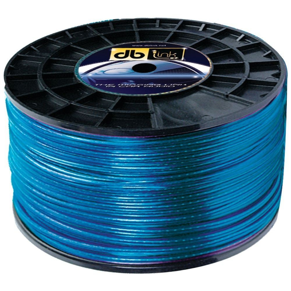 Db Link Sw16g500z Blue Speaker Wire 16 Gauge 500ft Speaker Wire Speaker Power Wire