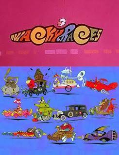 Los Autos Locos Clasico Cartoon Del Pasado Fondo De Pantalla De Anime Autos Locos Autos