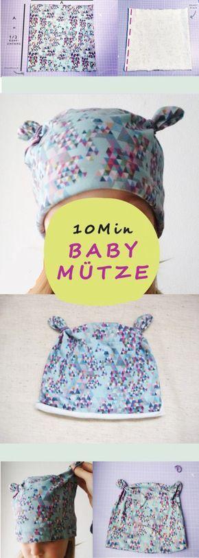 Bonnet à nœud – c'est ainsi que vous cousez le bonnet de bébé le plus simple au monde.   – Nähen