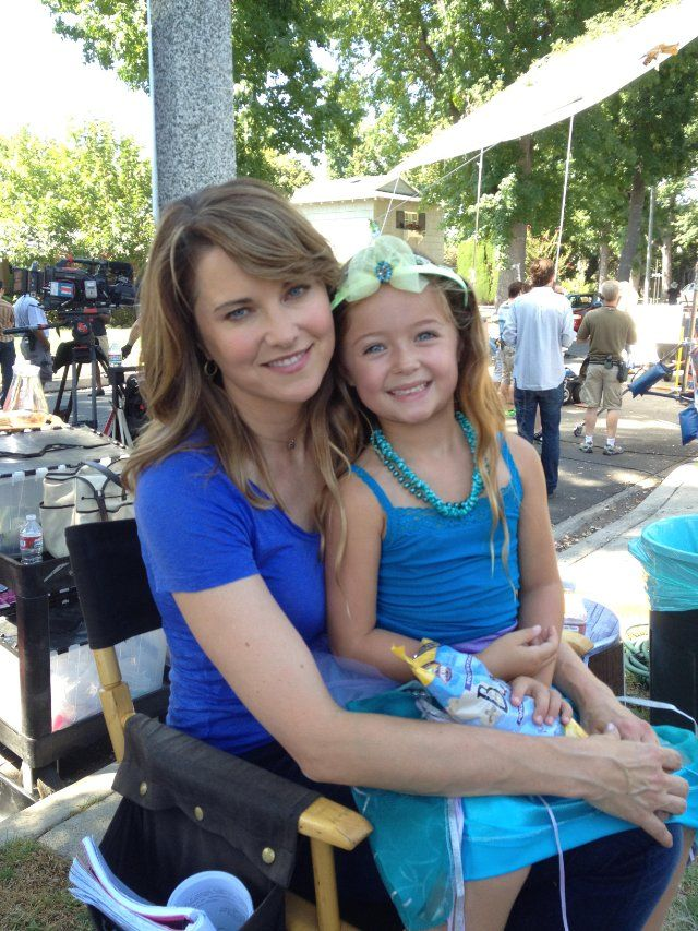 3ea8f5f404c30 Rylan Lee   Lucy Lawless on set of Parks   Recreation