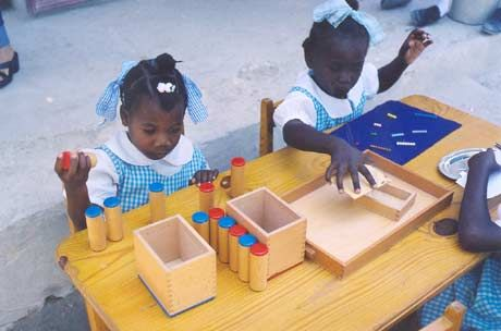 """Educateurs sans Frontieres (EsF)  """"The goal for ESF is to identify innovative educational projects worldwide that are based on Montessori principles, and support them with mentorship, resources, and/or funding, guiding them towards sustainability, expansion, and replication."""""""