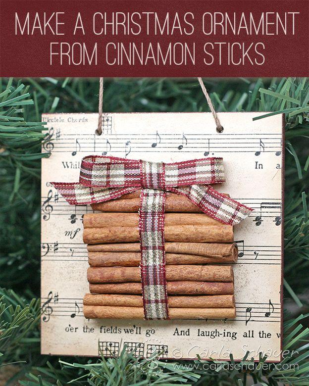 Cinnamon Stick Ornament Cinnamon Sticks Ornaments Stick