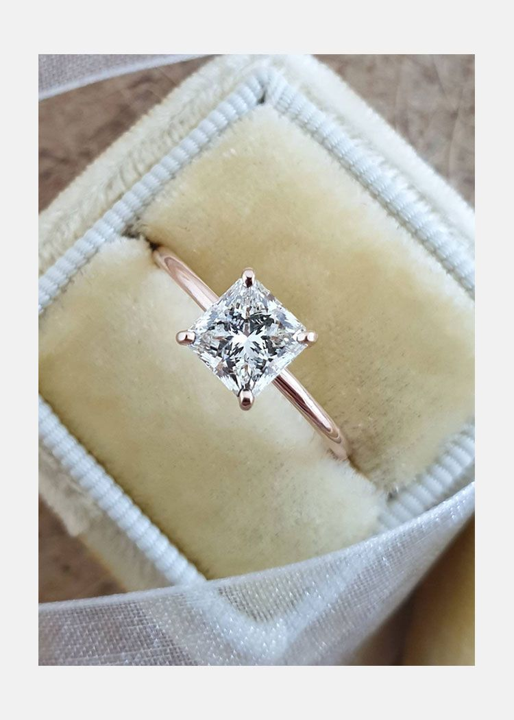 Details about  /2.70Ct Cushion White Diamond Wedding Engagement Ring Solid 14K White Gold Bridal