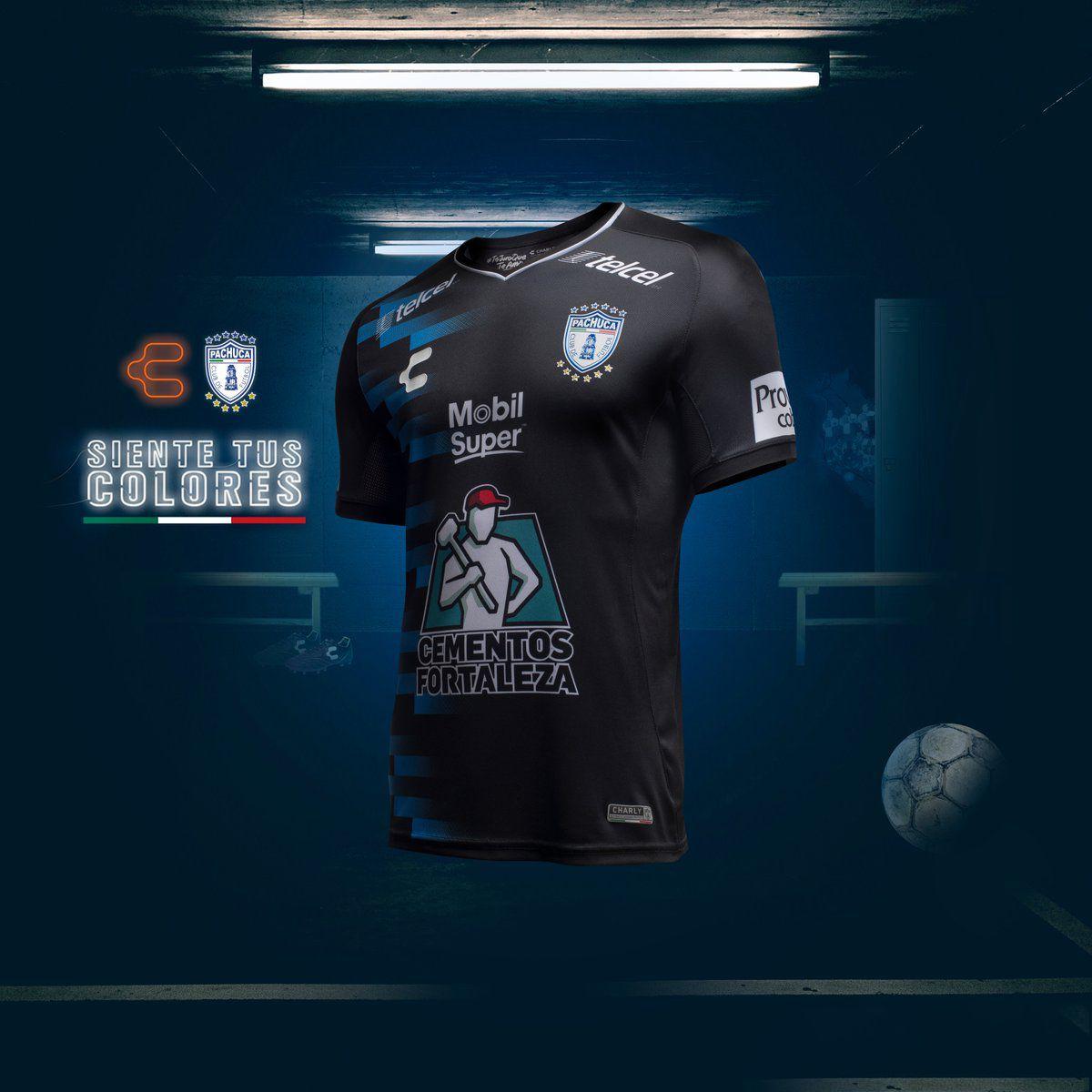 2019 的 18-19 CF Pachuca Away Black Jersey Shirt d2577feaf