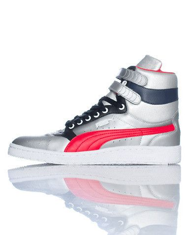 PUMA High top men s sneaker Lace lock closure with double velcro straps  Perforated toe for breathability Padded tongue with PUMA logo Cushioned sole a96a426bb