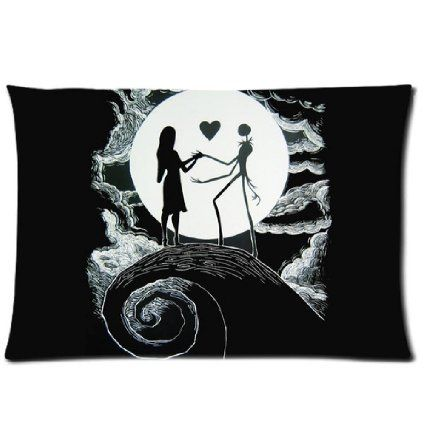 "The Nightmare Before Christmas 20"" X 30"" High Quality Pillow Case Cover One Side Print For Room"