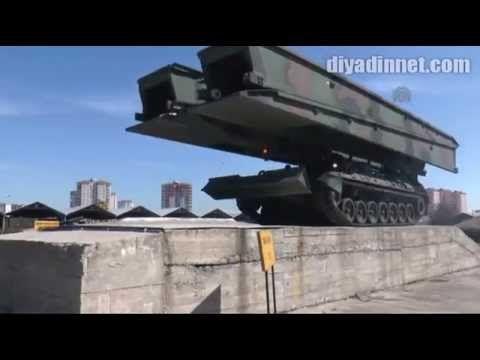 """TSK'nın """"engel tanımayan"""" tankları - KAYSERİ"""