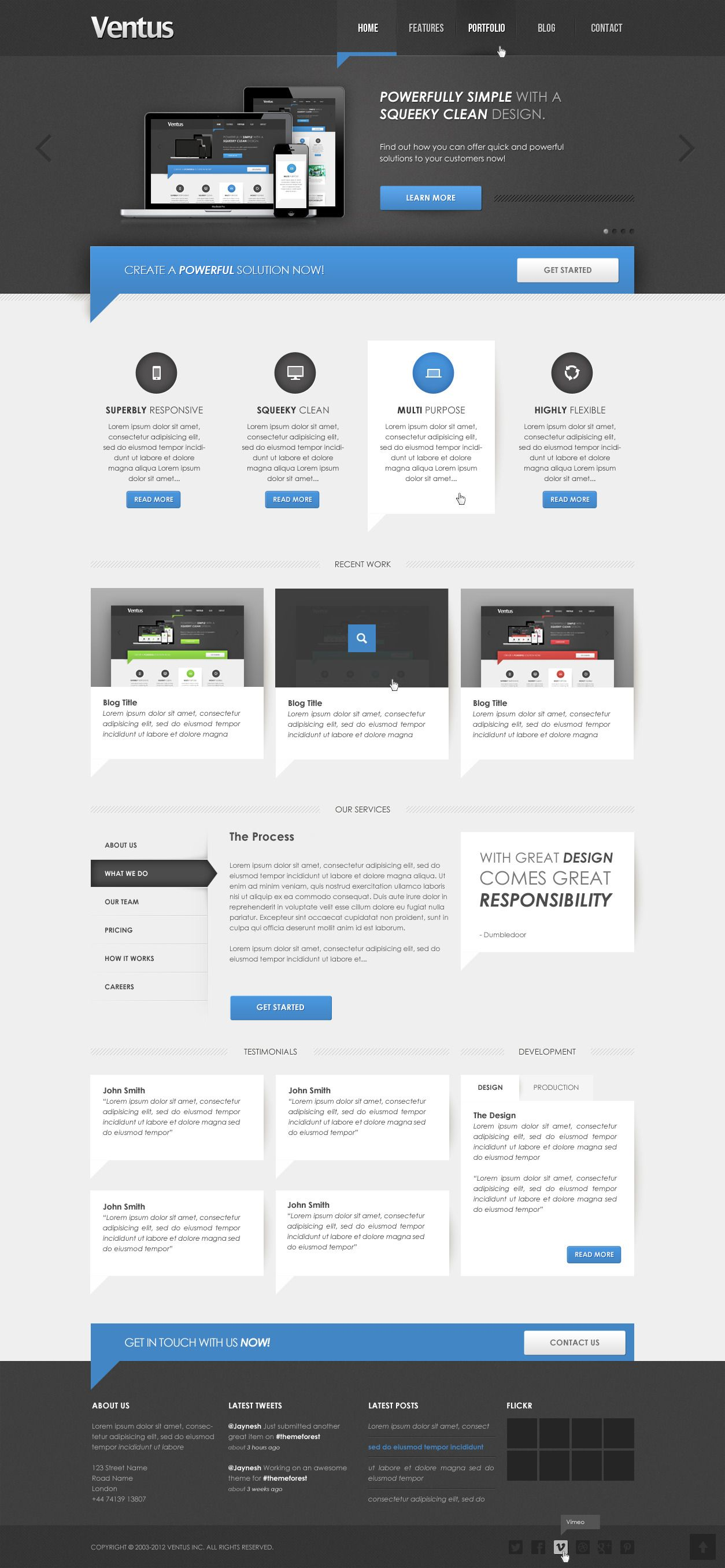 Features Layout Web Inspiration Layout Web Design
