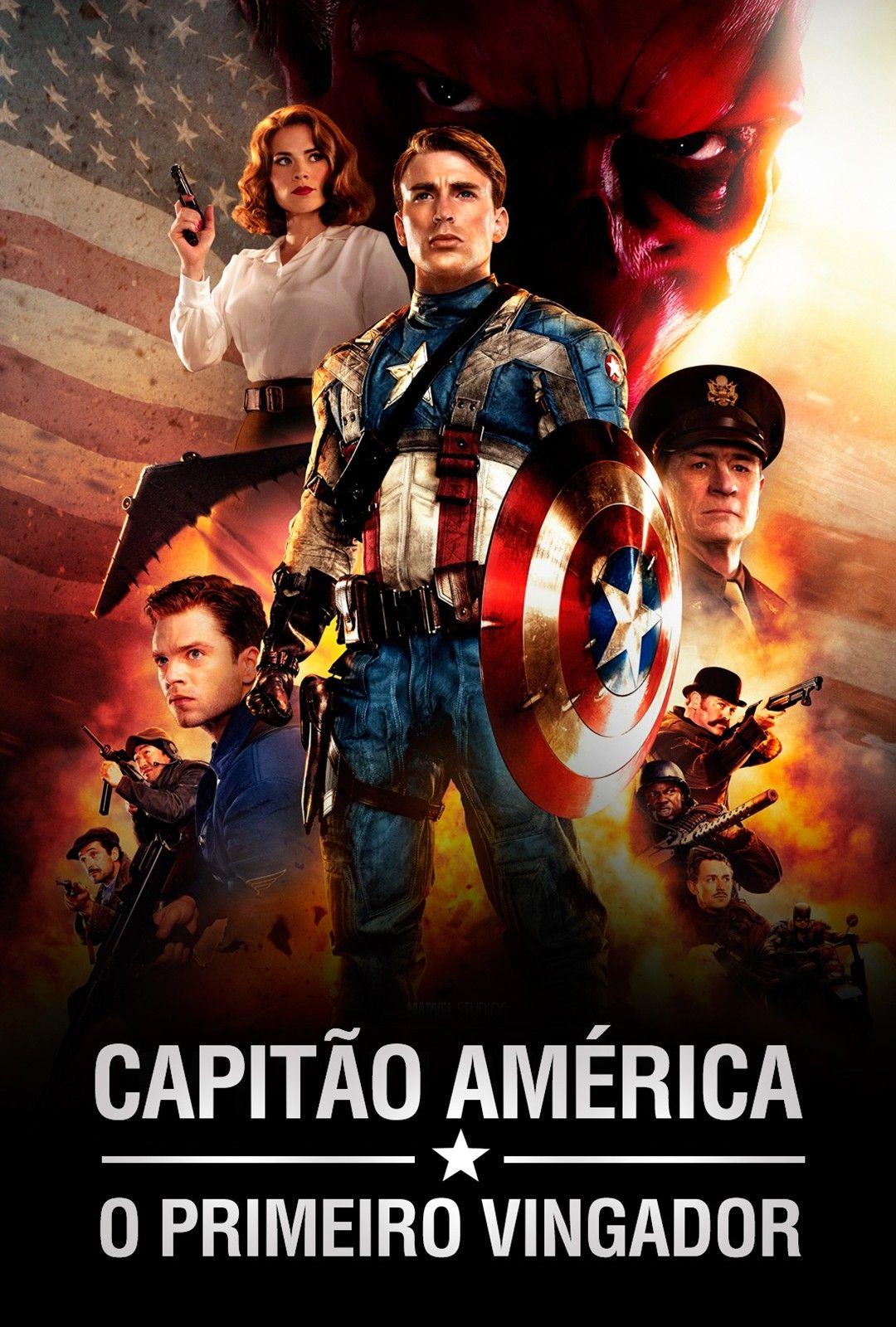 Capitan America El Primer Vengador 2011 Captain America Movie Avengers Poster Avengers Film