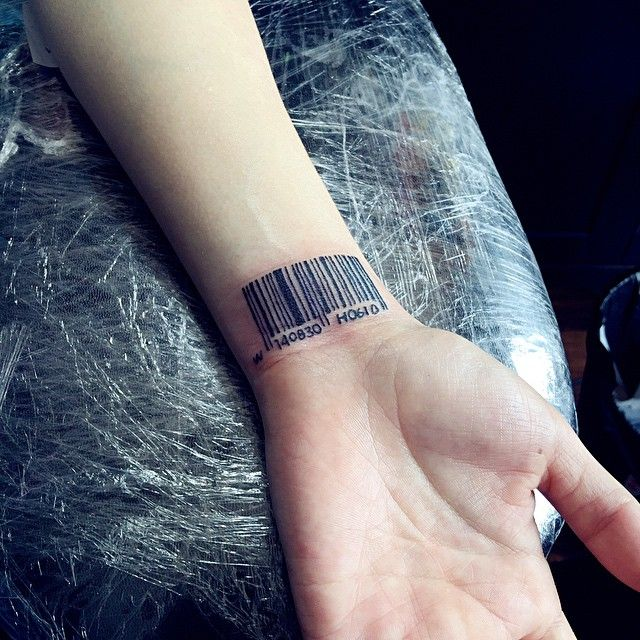 20 Graphic Barcode Tattoo Meanings