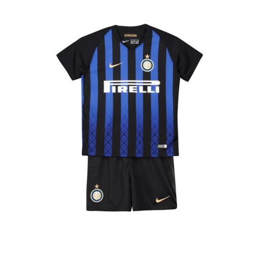 ce7f16f78fc 18-19 Inter Milan Home Children s Jersey Kit(Shirt+Short)
