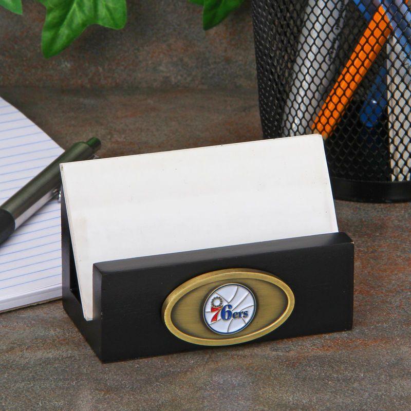 Philadelphia 76ers Business Card Holder - Black | School items and ...