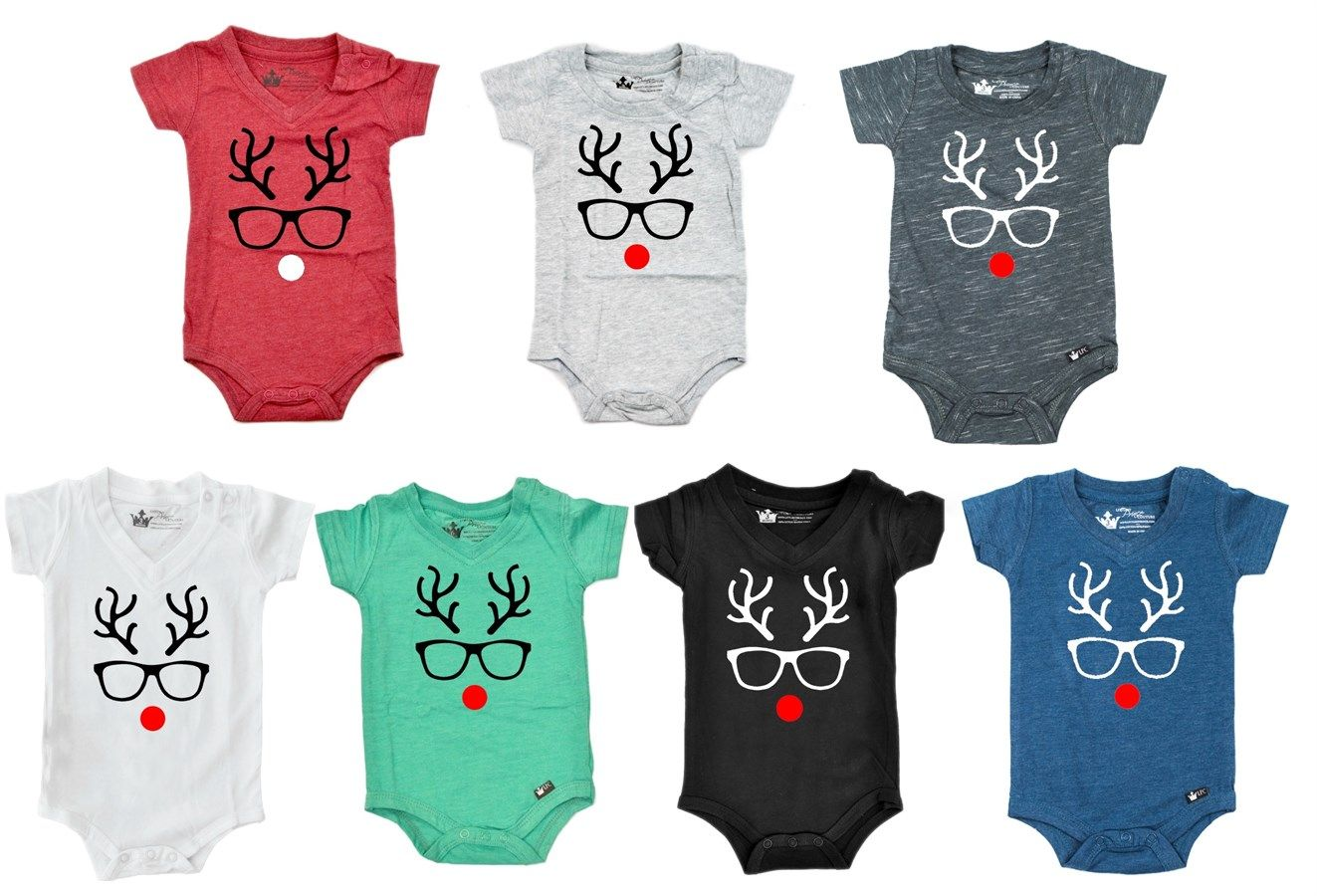 Jolly Christmas Shirts & Onesies | 4 Designs! | Jane