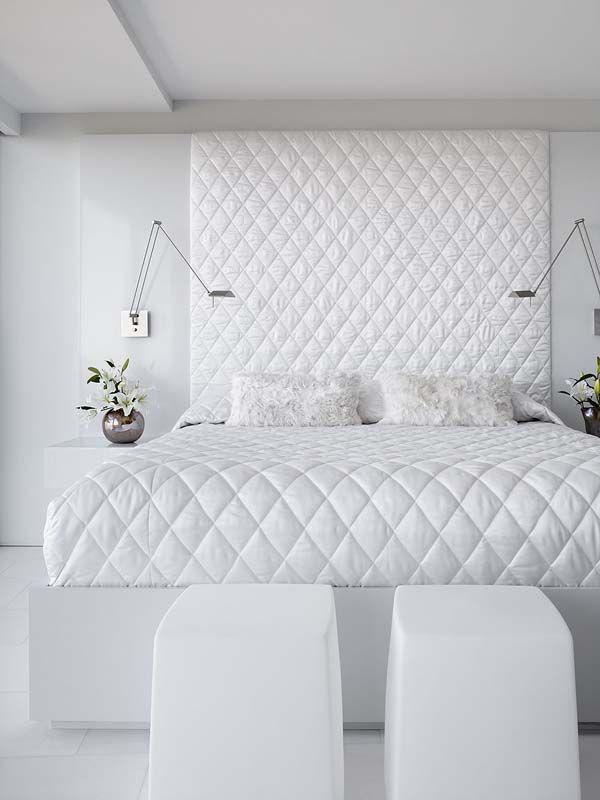 Schlafzimmer komplett in weiß einrichten \