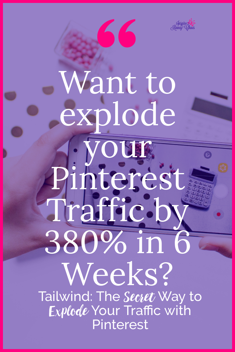 Tailwind The Secret Way To Explode Your Traffic With Pinterest Pinterest Traffic Pinterest Marketing Strategy Pinterest For Business