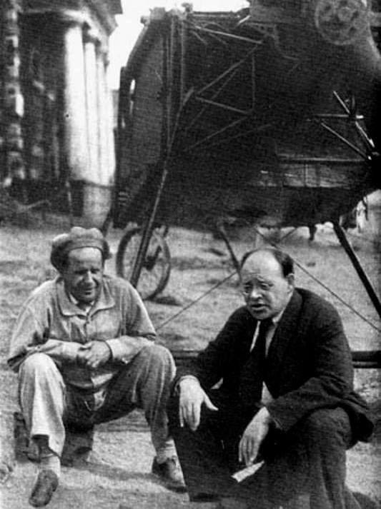 Sergey Eysenstein and Isak Babel