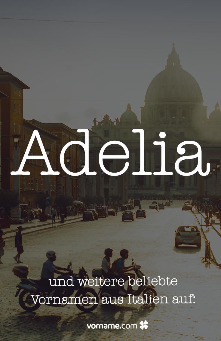 Italienische frauennamen