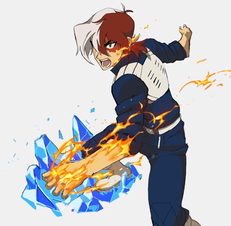 Voltron X Boku no hero Academia Keith Todoroki by Eugene Lee