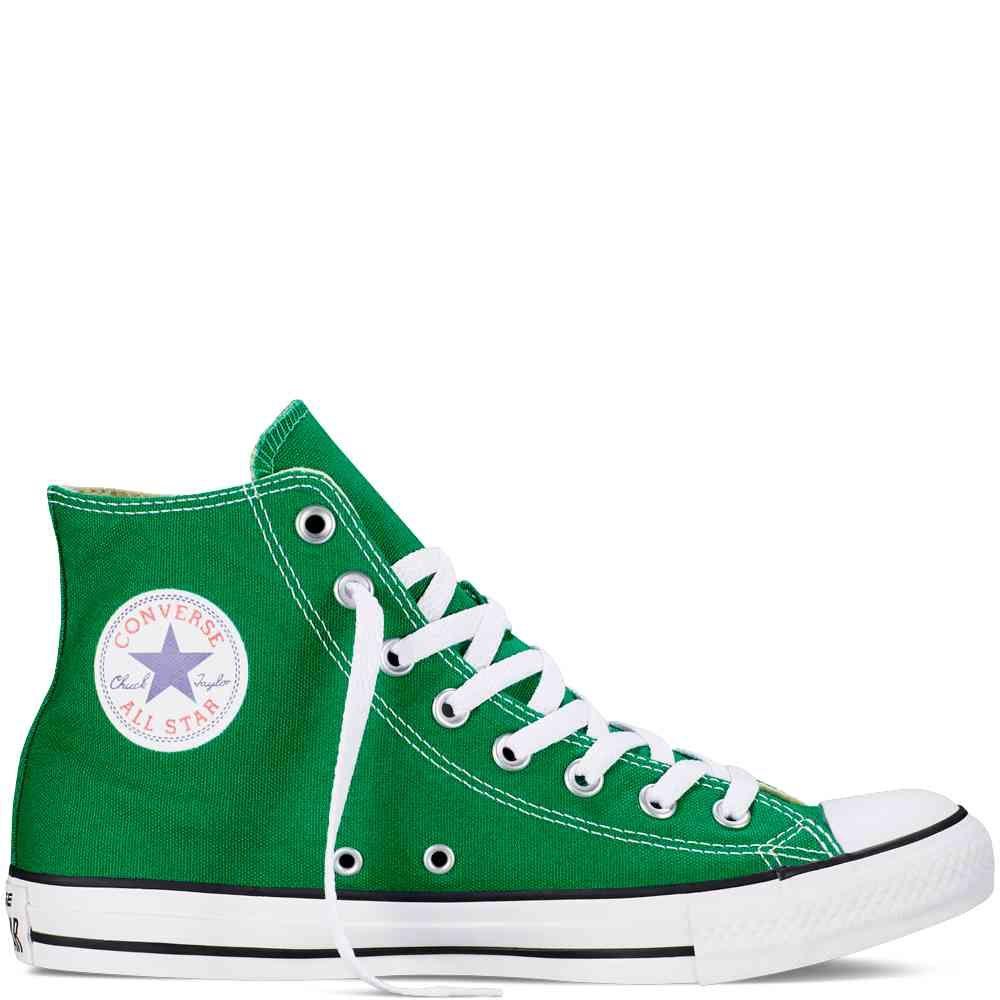 converse all stars groen laag