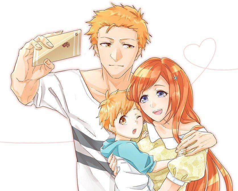 Ichihime family love | ️ ️ICHIHIME CANON ️ ️ | Pinterest ...