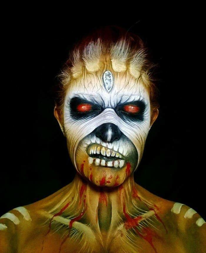 Grus ELL-Halloween make-up ideas Halloween Make-up Ideas And Tips - halloween horror makeup ideas