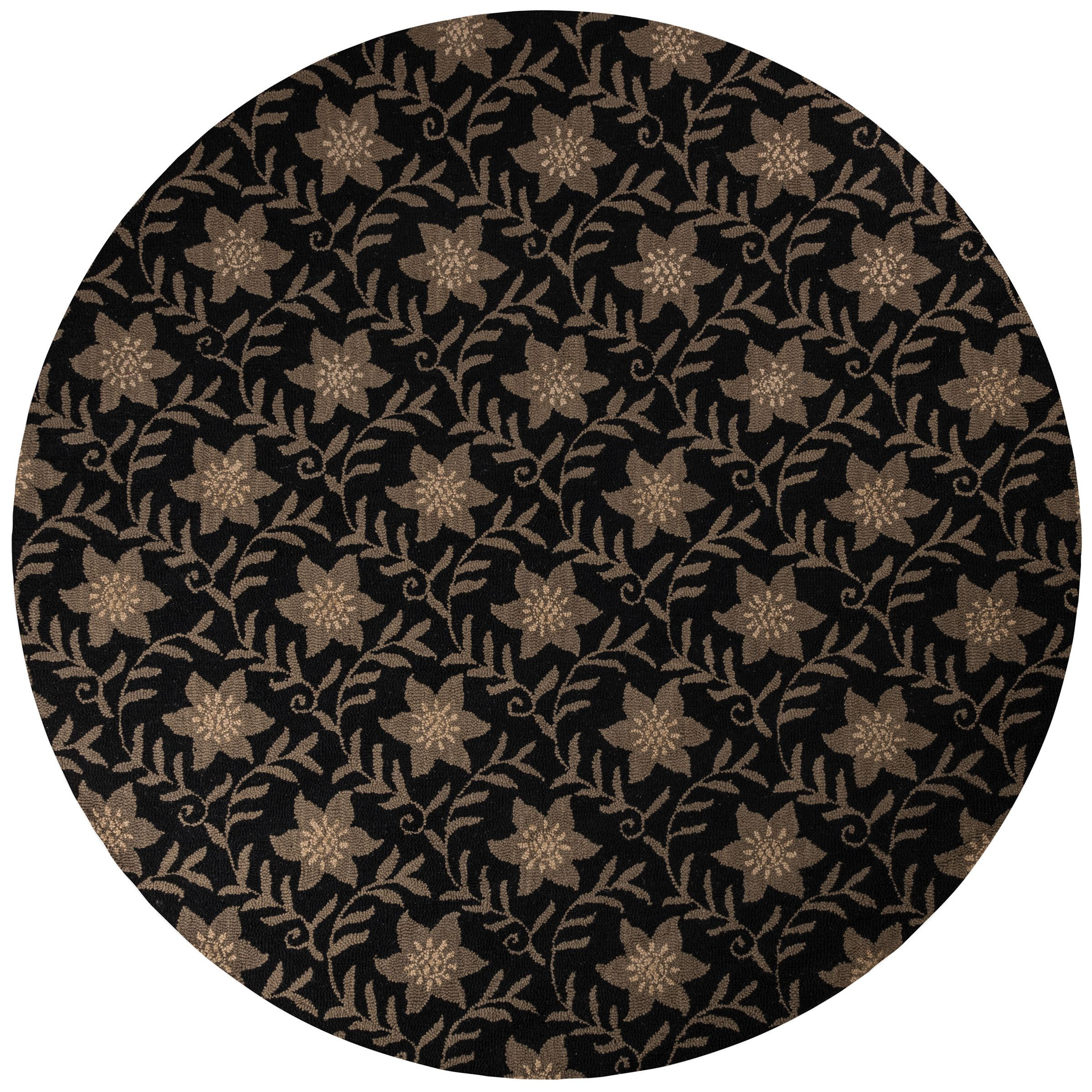 Rizzy Home Country Collection Hand-tufted New Zealand Blend Accent Rug