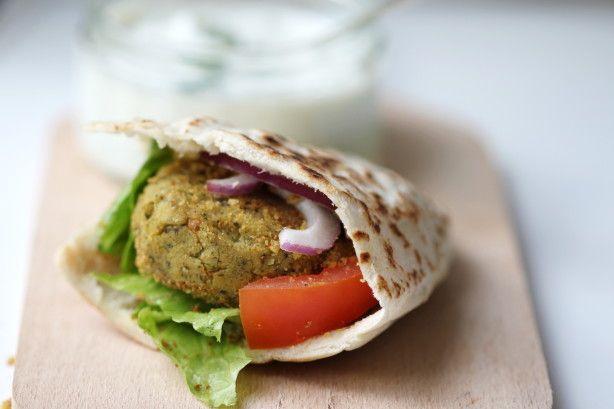 Falafel [i like the idea of using cilantro instead of parsley]
