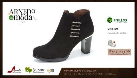 grandes ofertas 2017 nueva estilos compras SORTEO botín PITILLOS de GALERÍA 58. Arnedo es moda. | Botines ...