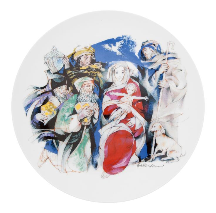 """Natal 2013"" by Luís Filipe de Abreu | Christmas Plate"