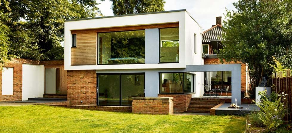 Radical modern extension | HOME: The big ideas | House ... on linear home designs, outrageous home designs, dramatic home designs,