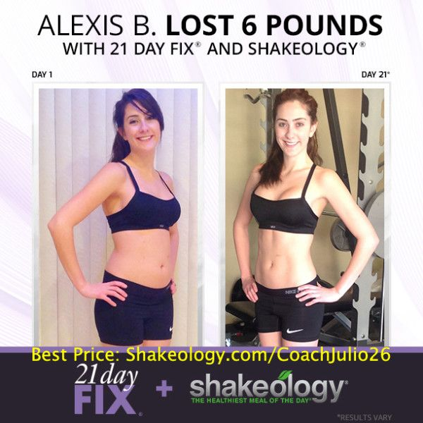 Alexis Tried Every Known Fadt Known To Man She Finally Got Results With 21 Day Fix Shakeology