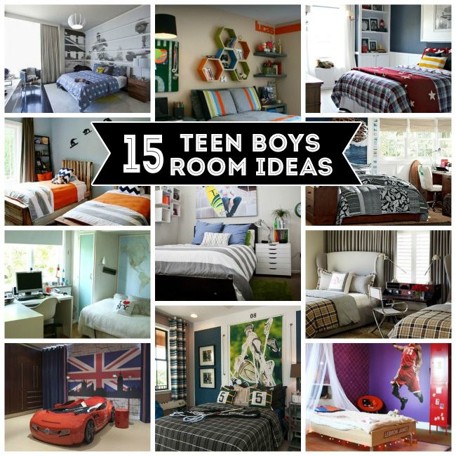 Teenager Boy Bedroom Designs Part - 36: 15 Teen Boys Room Ideas